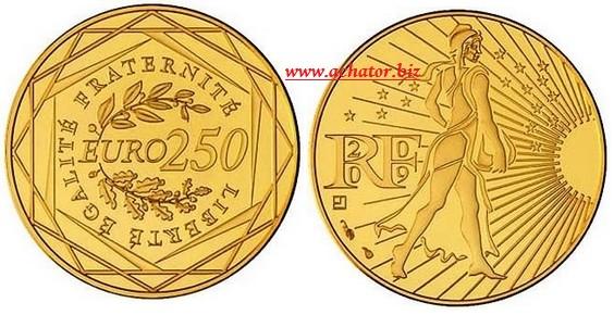 250 euros piece or